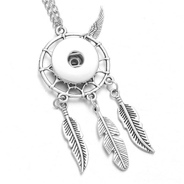 Ethnic Bohemian Feather Necklace
